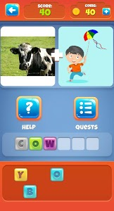 screenshot of 2 Pictures 1 Word version 1.0.18