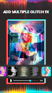 screenshot of 3D Glitch Photo Effects - Camera VHS Camcorder version 1.6.123