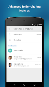screenshot of 4shared version 4.03.0