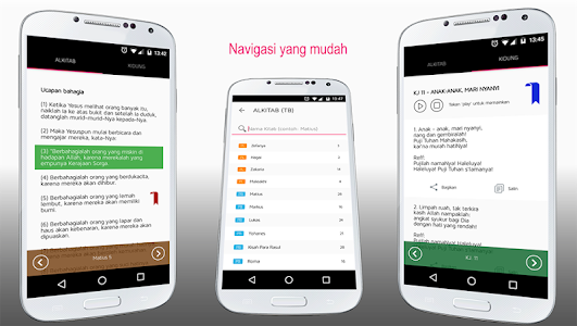 screenshot of ALKITAB & Kidung version 2.0.1.3