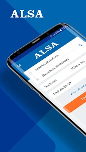 screenshot of ALSA: Buy your bus ticket at the best rate version 6.3.6