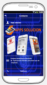 screenshot of APPS SOLUCION version 2.6