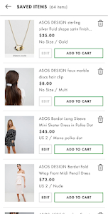 screenshot of ASOS version 4.11.0
