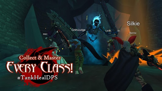 screenshot of AdventureQuest 3D MMO RPG version 1.47.0