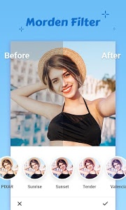 screenshot of Air Camera- Photo Editor, Collage, Filter version 1.8.5.1006