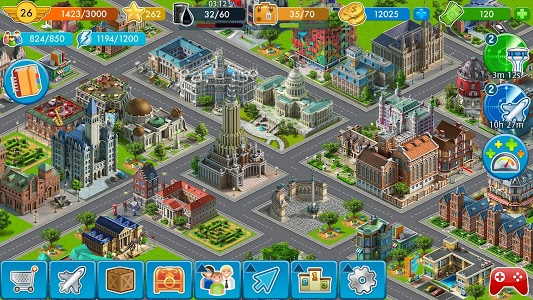 screenshot of Airport City: Airline Tycoon version 6.9.4