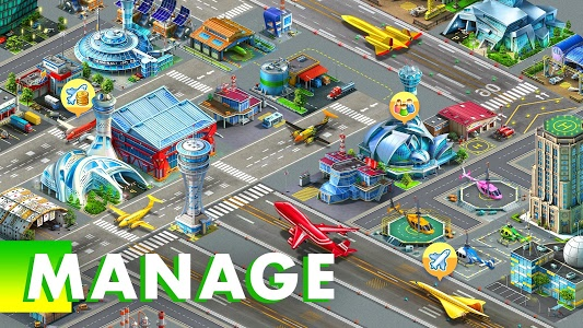 screenshot of Airport City: Airline Tycoon version 6.7.30