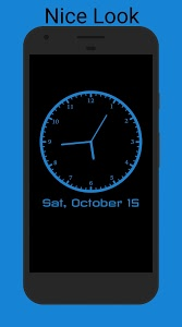 screenshot of Always On - Ambient Clock 2.0 version 2.0.6