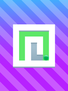 screenshot of Amazing Roller - Paint The Maze: 2D Puzzle Game version 1.0.0