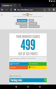 screenshot of Android System WebView version 73.0.3683.90