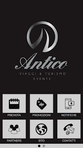 screenshot of Antico Viaggi & Turismo Events version 1.0