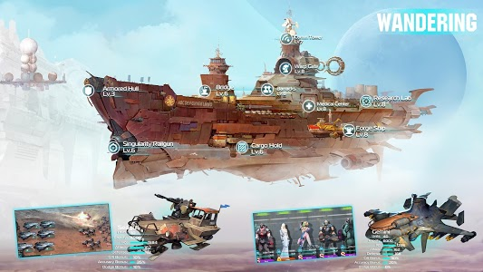 screenshot of Ark of War: Galaxy Pirate Fleet version 2.7.0