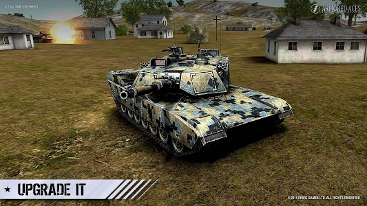 screenshot of Armored Aces - Tanks in the World War version 3.1.0