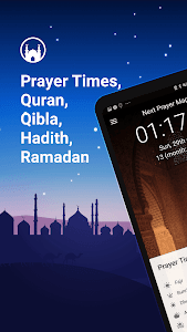 screenshot of Athan Pro - Azan & Prayer Times & Qibla version 3.0.86