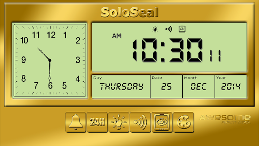 screenshot of Awesome Alarm Clock version 1.71