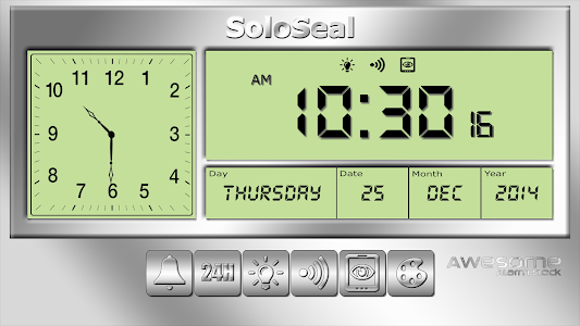 screenshot of Awesome Alarm Clock version 1.76