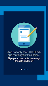 screenshot of BBVA Spain version Varies with device