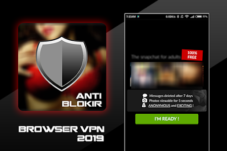 screenshot of BF Browser Anti Blokir version Browser Anti Blokir 2019