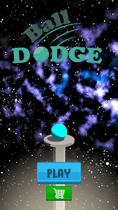 screenshot of Ball Dodge version 1.0