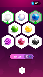 screenshot of Tiles Hop: Forever Dancing Ball version 2.0.7