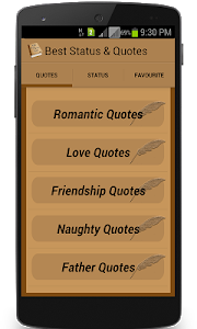 screenshot of Best Status Quote for 2019 version 13.0