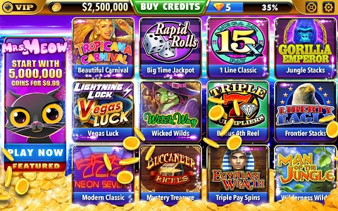 screenshot of Big Bonus Slots - Free Las Vegas Casino Slot Game version 1.54.0