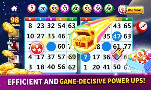screenshot of Bingo: Lucky Bingo Games Free to Play Toon Scapes version 1.3.8