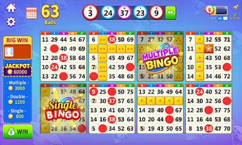 screenshot of Bingo Lucky - Free BINGO & SLOTS version 1.5.1