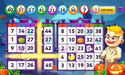 screenshot of Bingo: Lucky Bingo Games Free to Play Toon Scapes version Varies with device