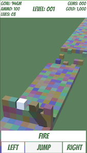 screenshot of Block Runner version 1.0.0
