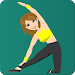 Stretching exercise. Flexibility training for body
