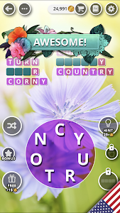 screenshot of Bouquet of Words - Word game version 1.29.37.4.1478