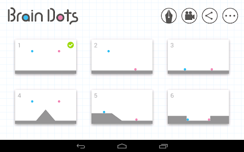 screenshot of Brain Dots version 2.12.1