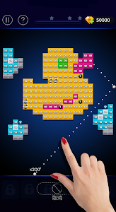 screenshot of Bricks VS Balls - Casual Brick Breaker Game version 1.4.7