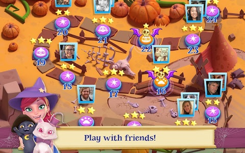 screenshot of Bubble Witch 2 Saga version Varies with device