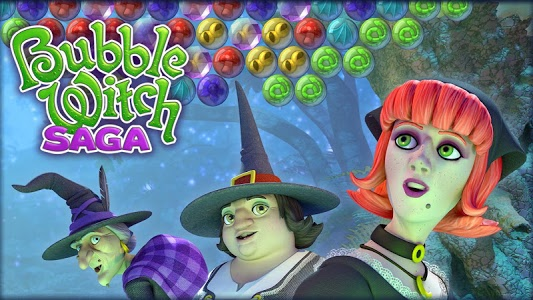 screenshot of Bubble Witch Saga version 3.1.35