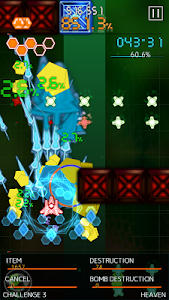 screenshot of Bullet Hell Monday version 2.1.8