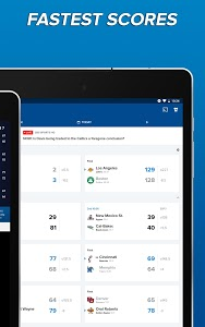 screenshot of CBS Sports App - Scores, News, Stats & Watch Live version Varies with device