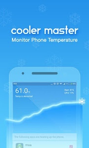 screenshot of CPU Cooler Master, Phone Cool version 2.2.6