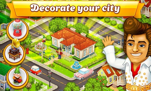screenshot of Cartoon City: farm to village. Build your home version 1.70