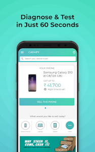 screenshot of Cashify - Sell Old & Used Mobile Phones Online version 3.2.23