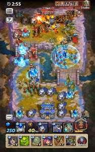 screenshot of Castle Burn - RTS Revolution version 1.4.2