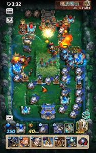 screenshot of Castle Burn - RTS Revolution version 1.5.7