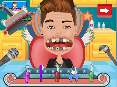 screenshot of Celebrity Dentist Clinic version 1.0.6