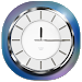 Chrome Analog Clock
