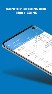 screenshot of Coin Market: Bitcoin Prices , Ethereum Charts, ICO version 1.22.0