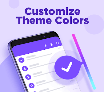 screenshot of Color SMS - Themes, Customize chat, Emoji version 1.1.0
