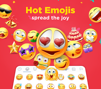 screenshot of Color SMS - Themes, Customize chat, Emoji version 1.1.3