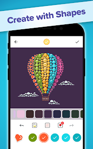 screenshot of Color by Diamond - Circle Art Color by Number Game version 1.0.0