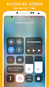 screenshot of Control Center IOS 13 - Screen Recorder version 2.3.6.13.11